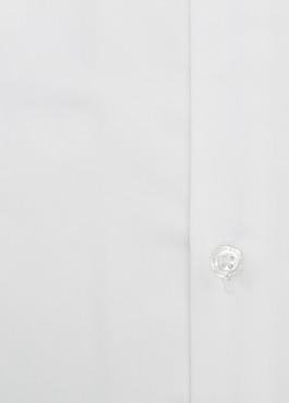 Chemise habillée Slim en satin blanc avec liseré bleu 2 - Father And Sons
