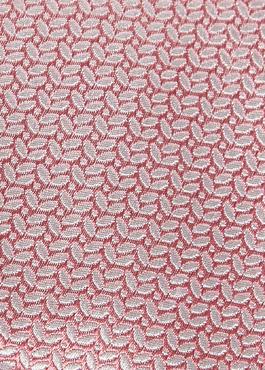 Cravate large en soie rose clair à motif fantaisie bleu clair 2 - Father And Sons