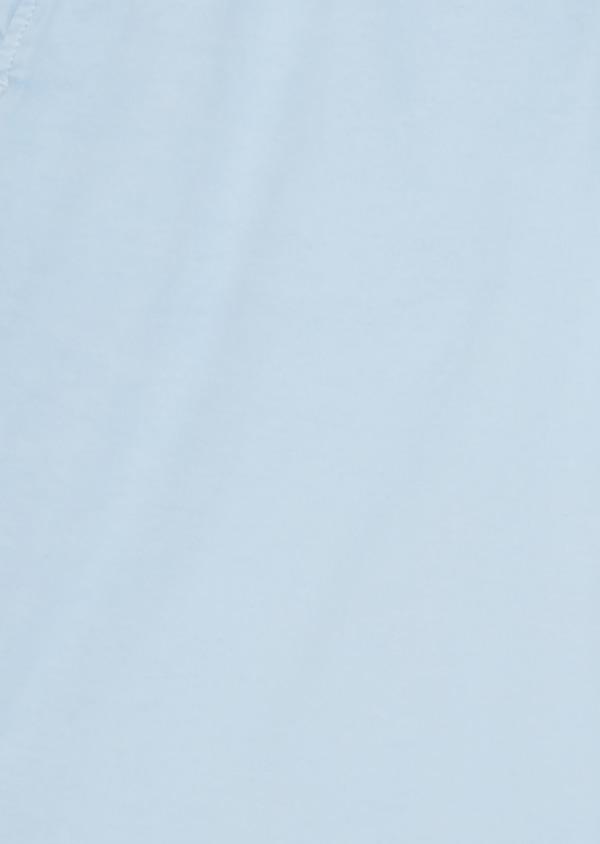 Bermuda en coton stretch uni bleu ciel - Father and Sons 7822
