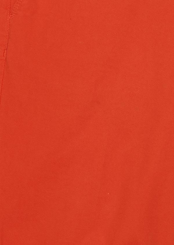 Bermuda en coton stretch uni orange - Father and Sons 4612