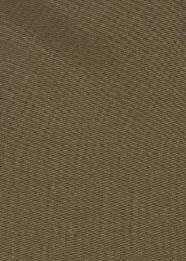Veste saharienne en coton uni vert kaki - Father and Sons 4720