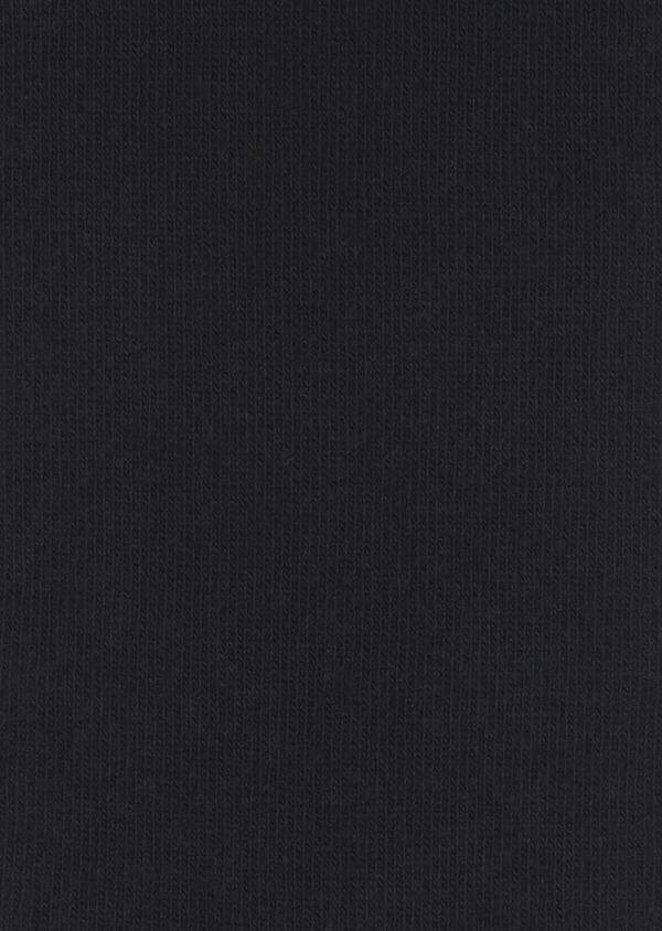 Chaussettes en coton mélangé noir à motif fantaisie bordeaux et gris clair - Father and Sons 7884