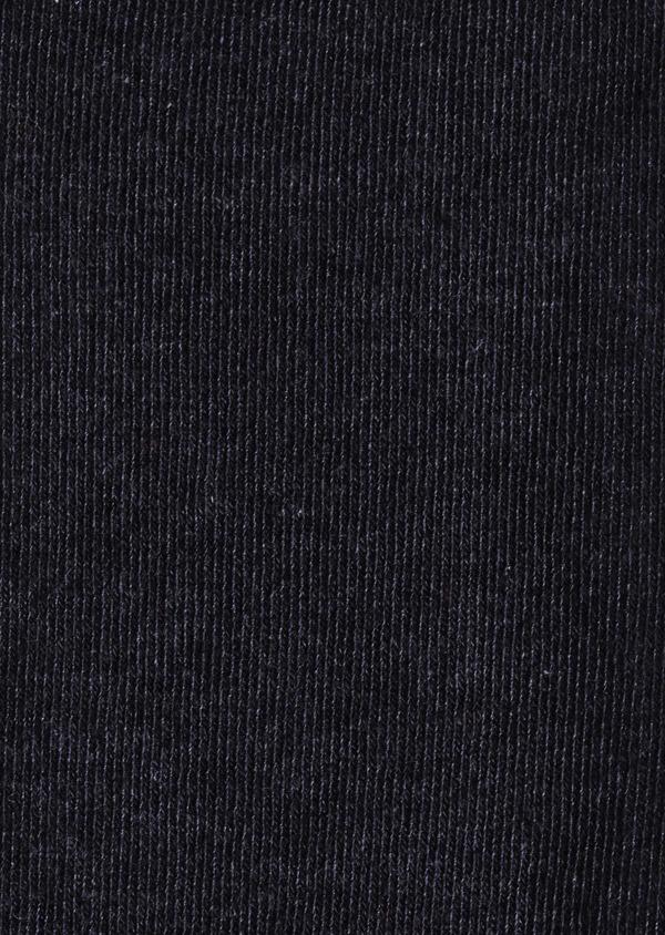 Chaussettes en coton mélangé uni gris moyen - Father and Sons 9056