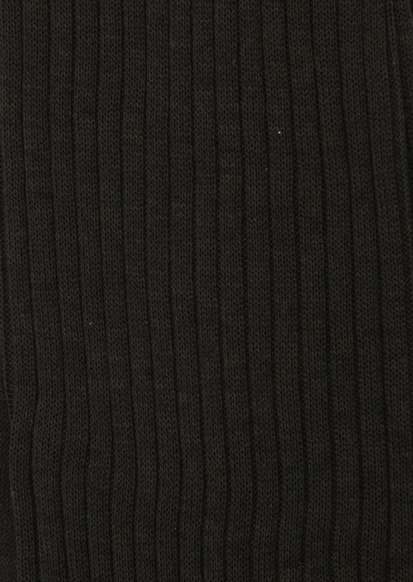 Chaussettes en coton fil d'Ecosse uni marron clair - Father and Sons 8000