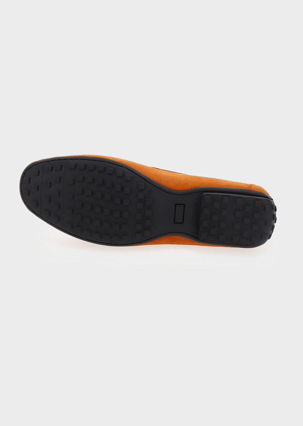 Mocassins en daim orange - Father and Sons 5088