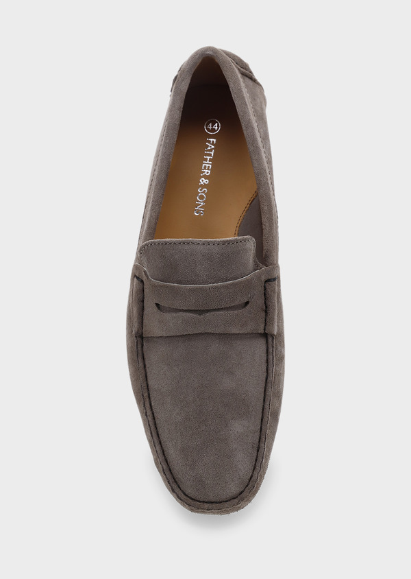 Mocassins en daim marron clair - Father and Sons 5082