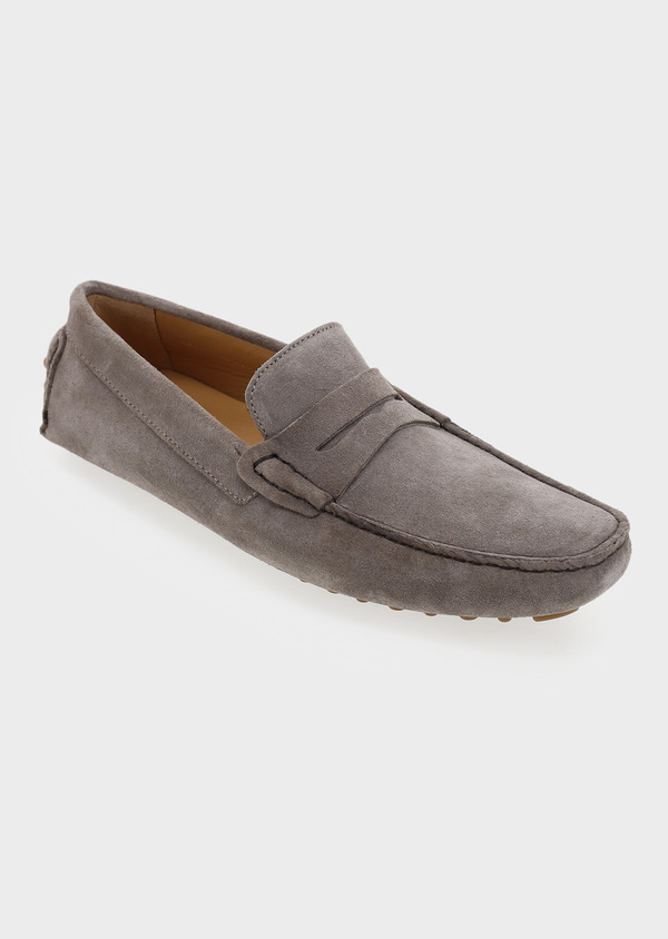 Mocassins en daim marron clair - Father and Sons 5081
