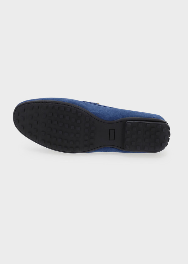 Mocassins en daim bleu - Father and Sons 5078