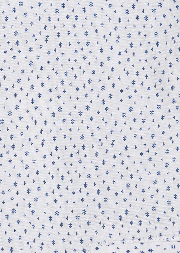 Chemise sport Regular en popeline de coton à motif fantaisie bleus - Father and Sons 5526