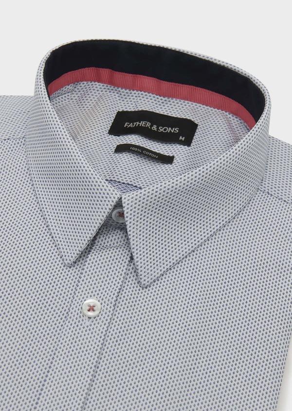 Chemise habillée Regular en coton à motifs fantaisie - Father and Sons 5121