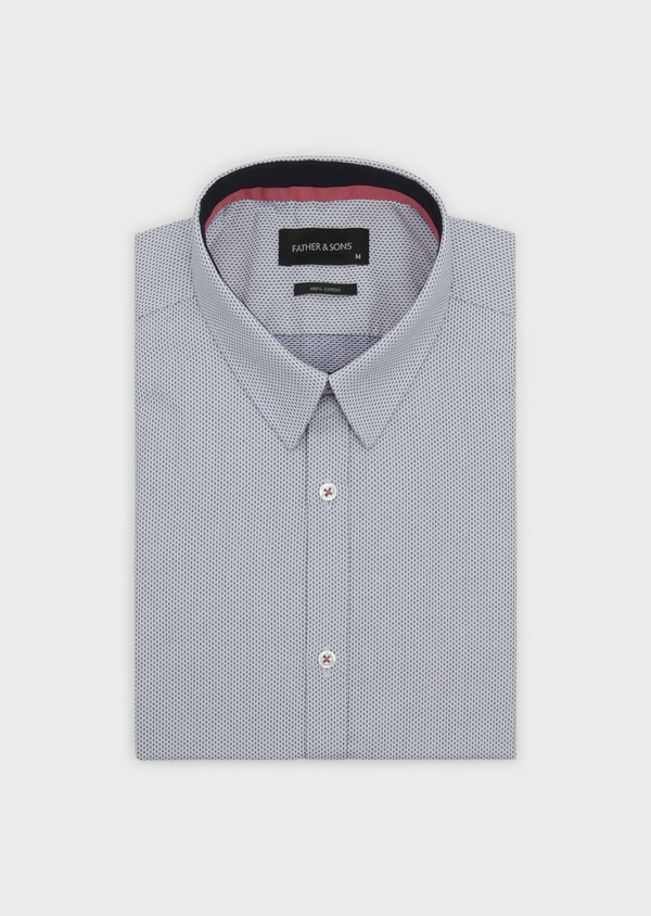 Chemise habillée Regular en coton à motifs fantaisie - Father and Sons 5119