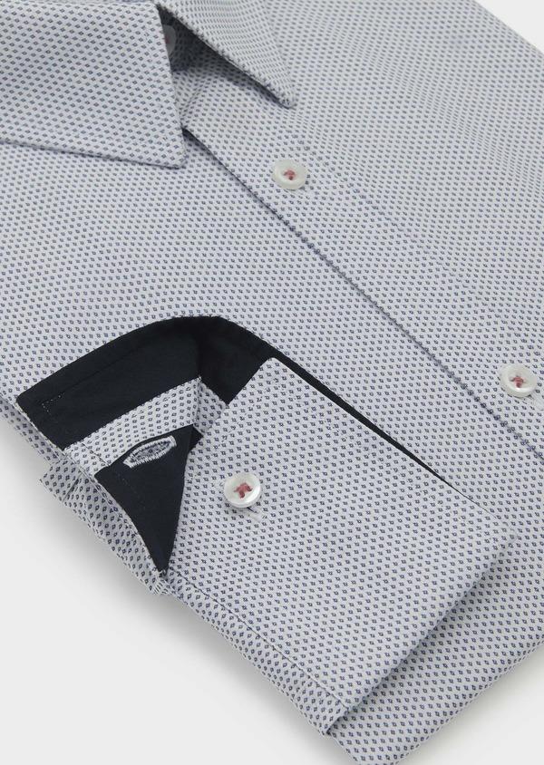 Chemise habillée Regular en coton à motifs fantaisie - Father and Sons 5122