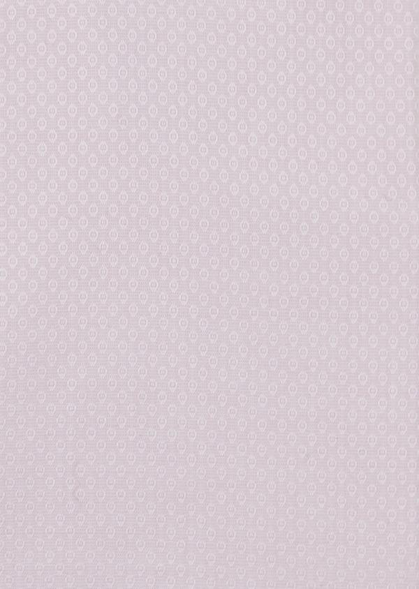 Chemise habillée Regular en façonné de coton uni rose pale - Father and Sons 5113