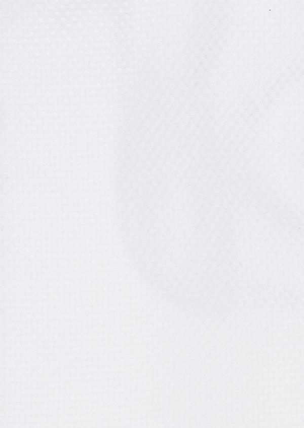 Chemise habillée Slim en coton façonné blanc à poignets-mixtes - Father and Sons 5260