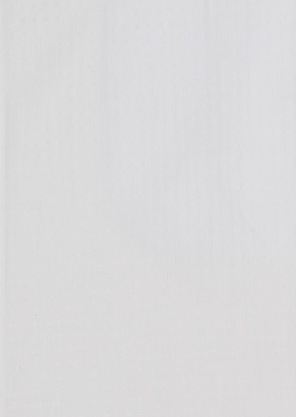 Chemise habillée Slim en coton façonné blanc avec liseré bleu - Father and Sons 5281