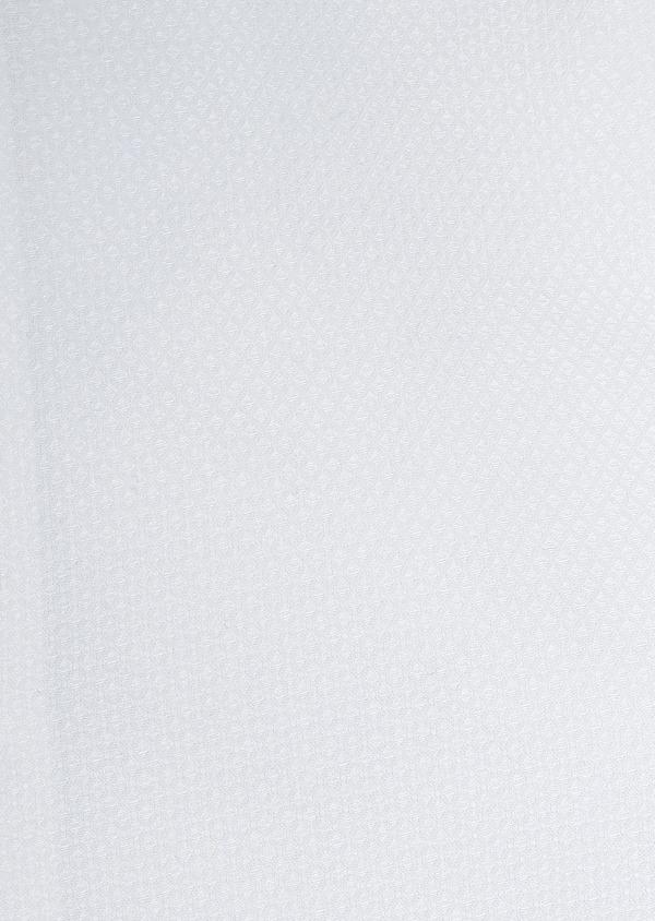 Chemise habillée Slim en coton façonné blanc - Father and Sons 5288