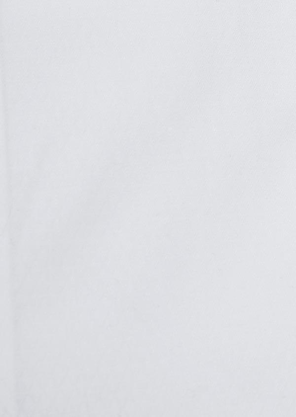 Chemise habillée Slim en coton façonné blanc à motifs losanges - Father and Sons 5365