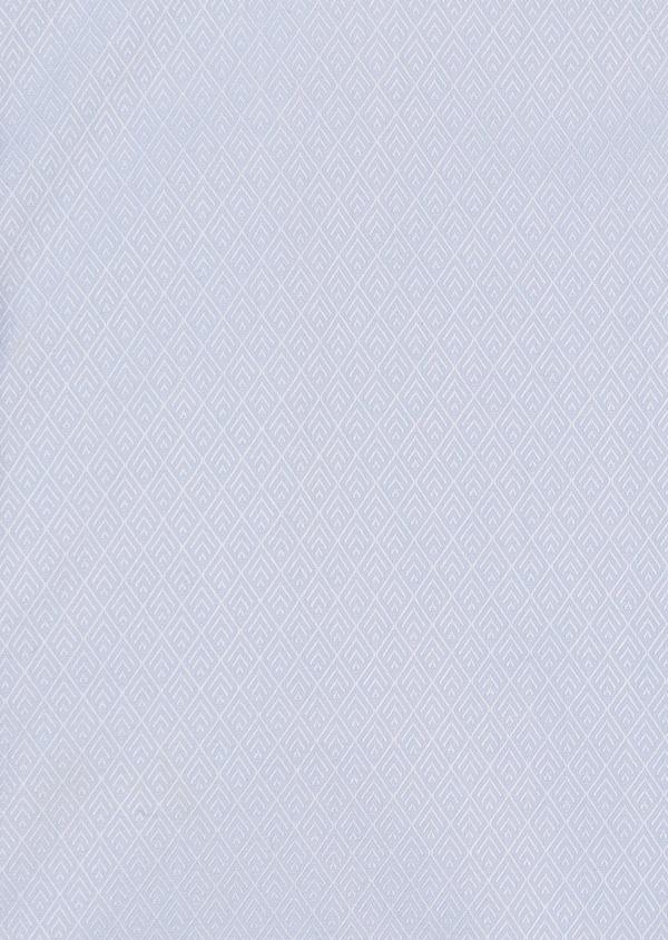 Chemise habillée Slim en coton façonné bleu ciel - Father and Sons 5169