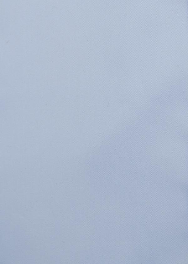 Chemise habillée Slim en coton façonné bleu ciel - Father and Sons 5295