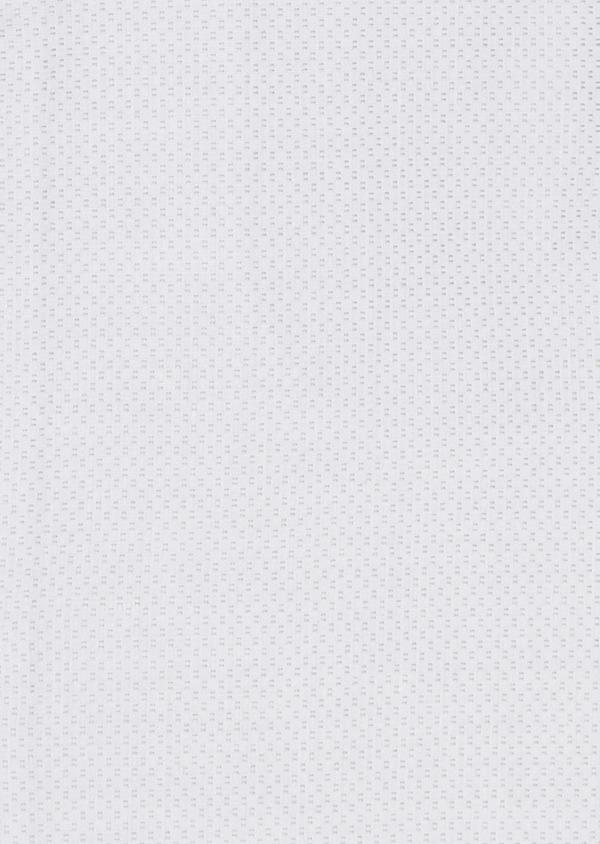 Chemise habillée Slim en coton façonné gris clair - Father and Sons 5225