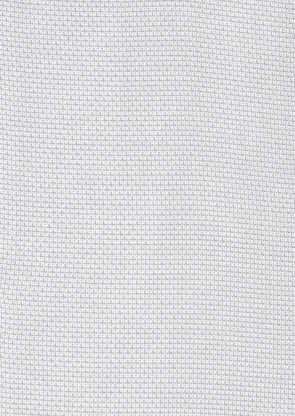 Chemise habillée Slim en coton façonné gris clair à poignets mixtes - Father and Sons 5232