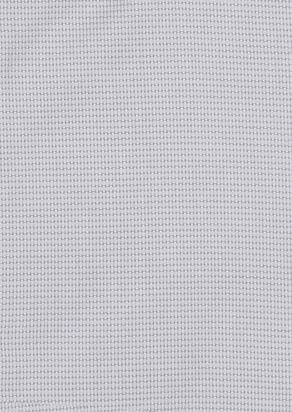 Chemise habillée Slim en popeline de coton à motifs géométriques gris - Father and Sons 5239