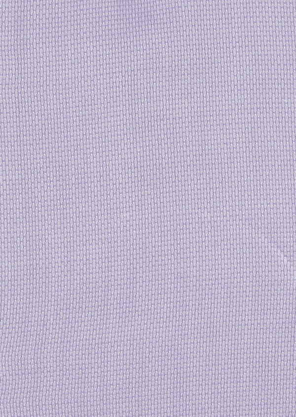 Chemise habillée Slim en coton tissé jacquard uni violet - Father and Sons 5330