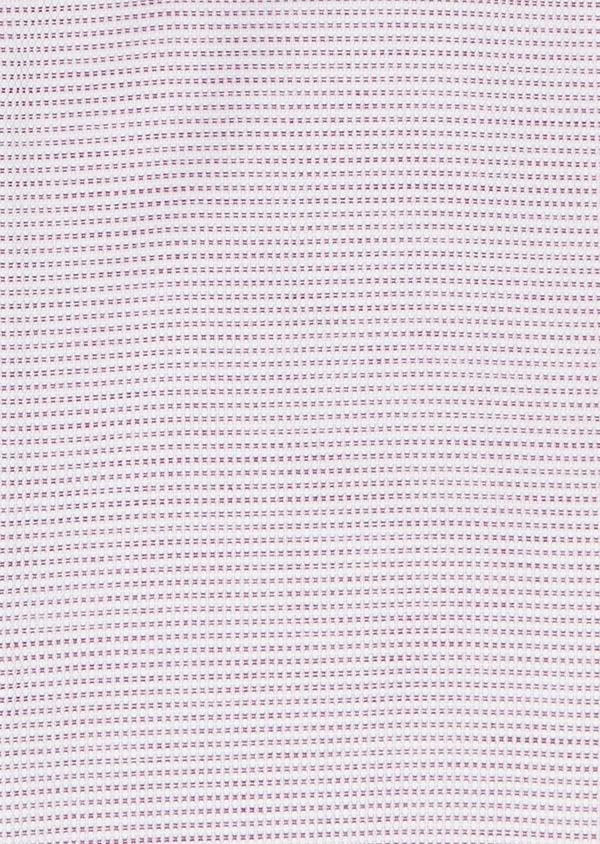 Chemise habillée Slim en coton façonné violet - Father and Sons 5379