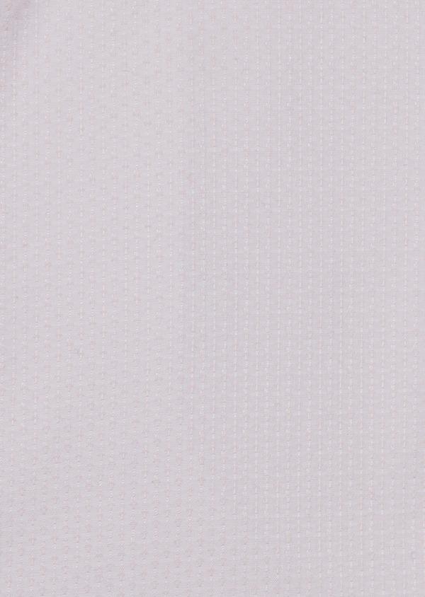 Chemise habillée Slim en coton façonné rose pale - Father and Sons 5204