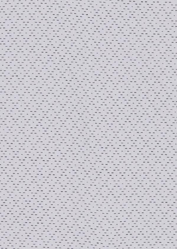 Chemise habillée Regular en popeline de coton à motifs losanges bleus - Father and Sons 5134