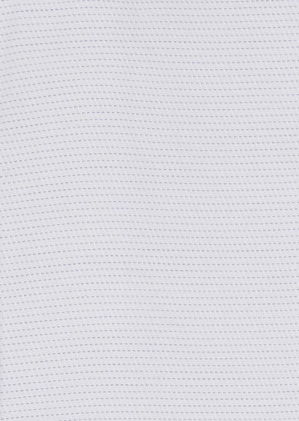 Chemise habillée Slim en coton façonné à pointillés gris - Father and Sons 5183