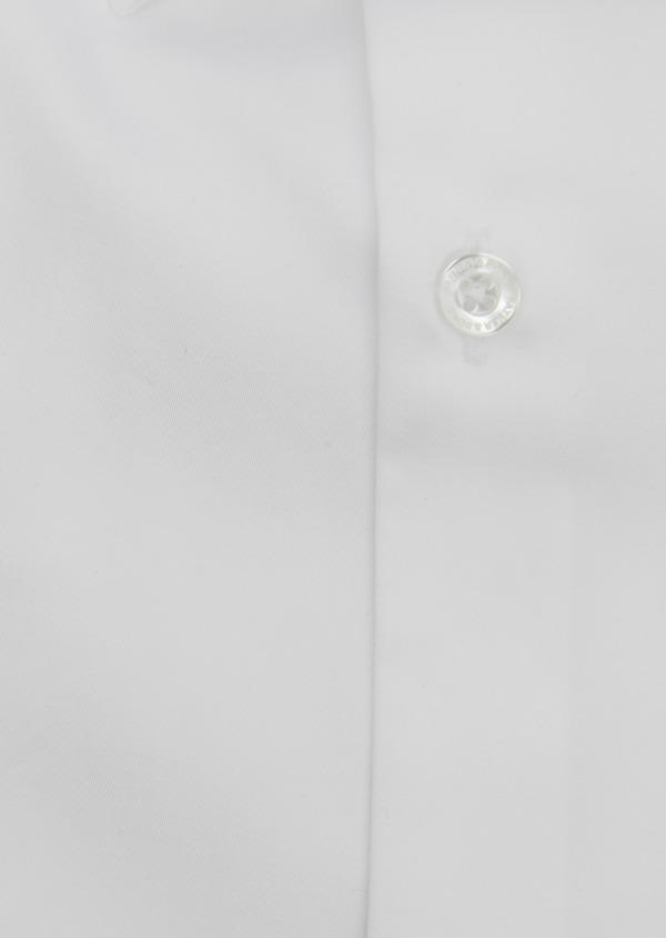 Chemise habillée Slim en satin blanc - Father and Sons 5246