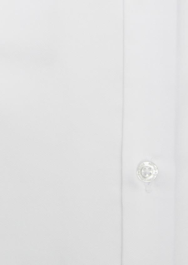 Chemise habillée Slim en satin uni blanc - Father and Sons 5309