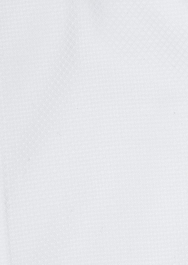 Chemise manches courtes Regular en façonné de coton uni blanc - Father and Sons 5092