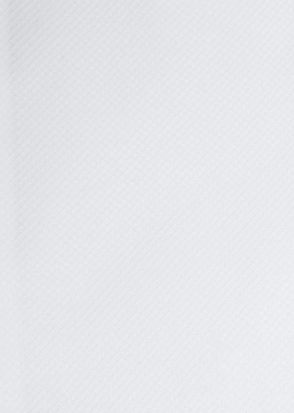 Chemise manches courtes Slim en façonné de coton blanc - Father and Sons 5099
