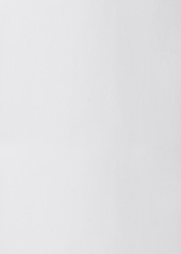 Chemise habillée Slim en satin blanc à poignets mousquetaires - Father and Sons 8625