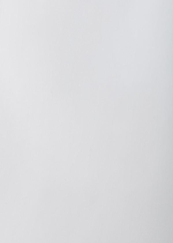 Chemise habillée Slim en satin blanc à col cassé - Father and Sons 8632