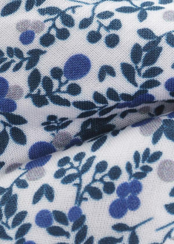 Coffret noeud-papillon et boutons de manchettes bleu et gris clair - Father and Sons 5652