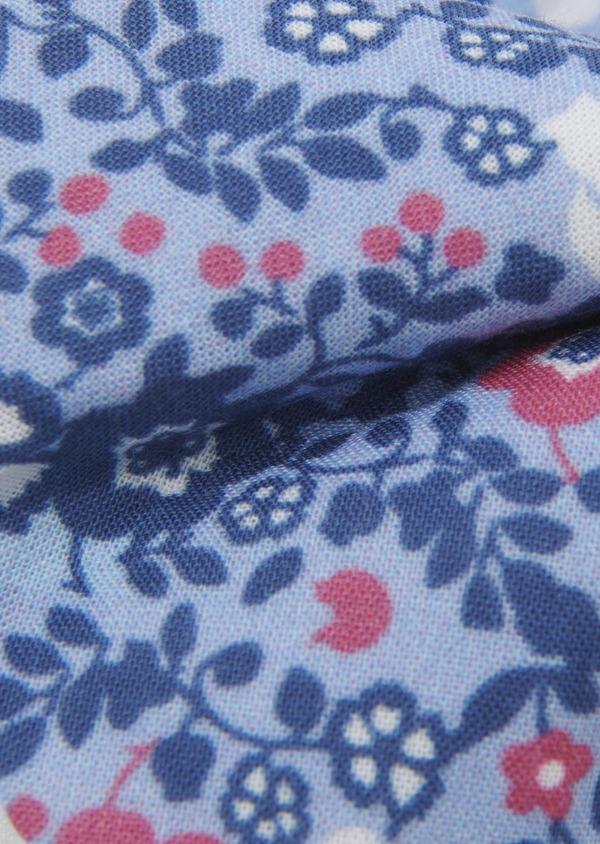 Coffret noeud-papillon et boutons de manchettes bleu clair et rose - Father and Sons 5656
