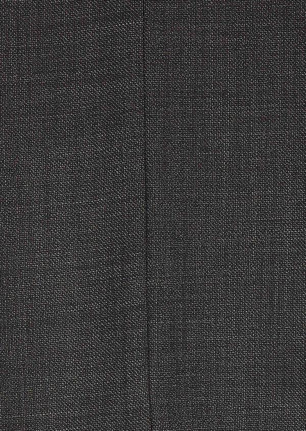 Costume 2 pièces Regular en laine façonnée unie grise - Father and Sons 5682