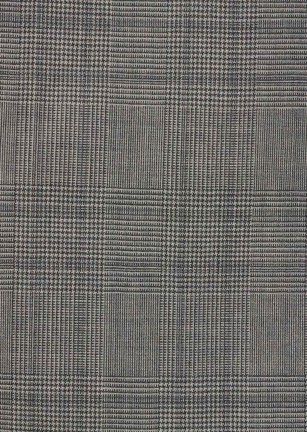 Costume 2 pièces Slim en laine grise Prince de Galles - Father and Sons 5722