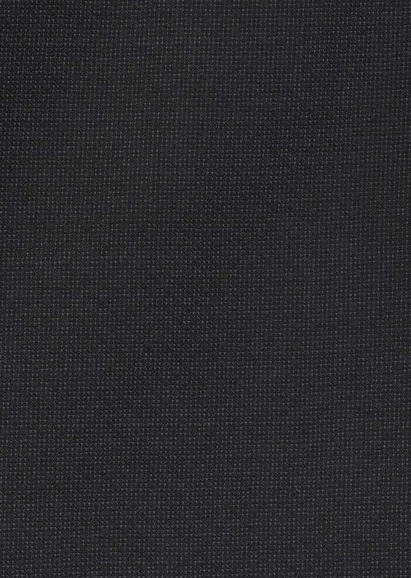 Costume 2 pièces Slim en laine façonnée unie gris anthracite - Father and Sons 5732