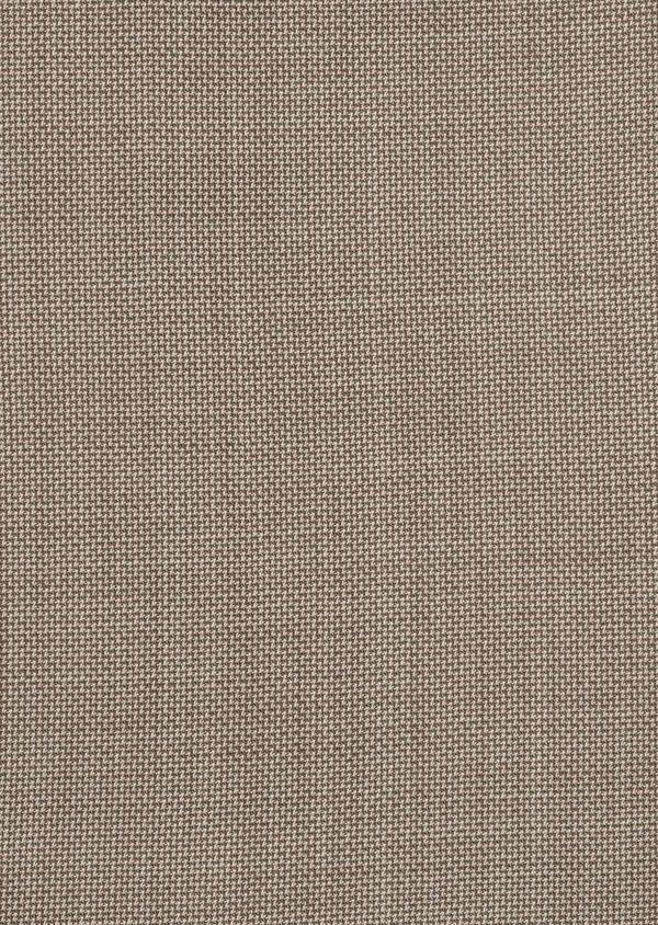Costume 2 pièces Slim en laine façonnée unie beige - Father and Sons 5832