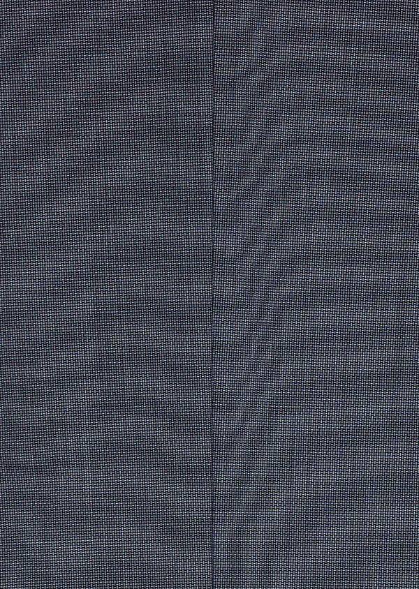 Costume 2 pièces Slim en laine façonnée unie bleu gris - Father and Sons 5802