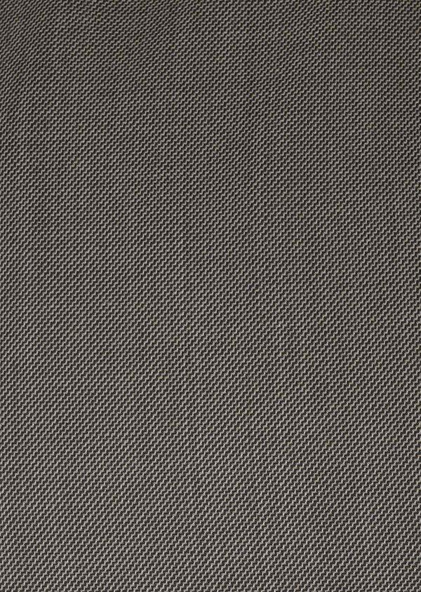 Costume 2 pièces Slim en laine façonnée unie marron clair - Father and Sons 5822