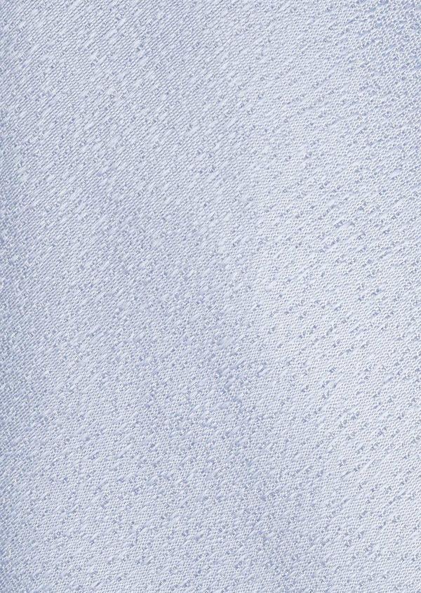 Cravate fine en soie unie bleu clair - Father and Sons 6126