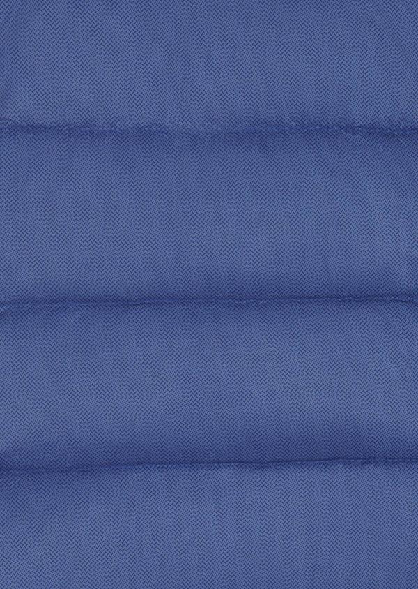 Doudoune light sans manches unie bleue - Father and Sons 6222