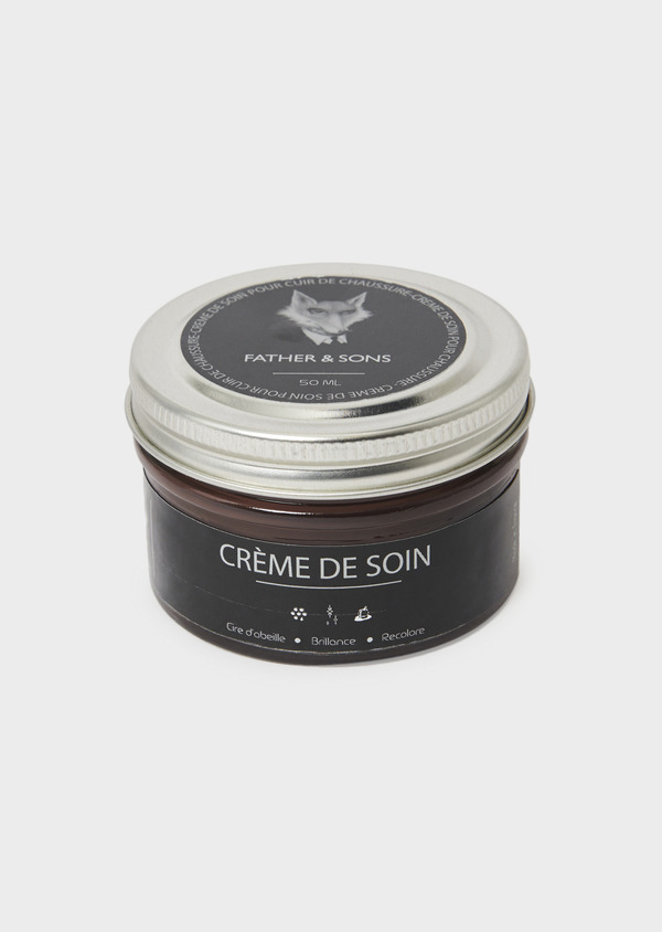 Crème de cirage marron pour cuir - Father and Sons 8703