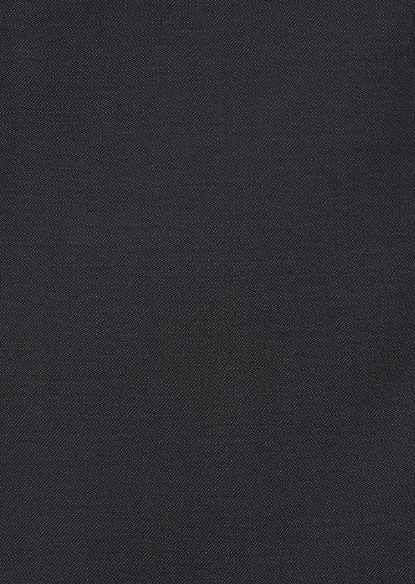 Gilet de costume en laine Vitale Barberis Canonico unie gris foncé - Father and Sons 8732