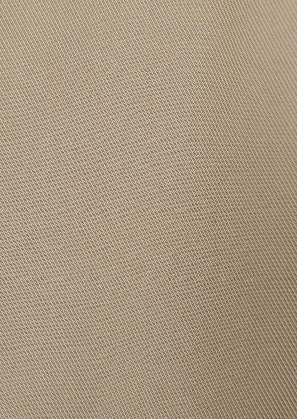 Trench droit double boutonnage uni beige - Father and Sons 6445